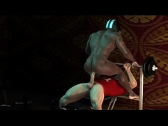 Anal Athletes 3d gay games
