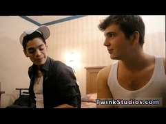 Boy gay twink 18 teen Brody Frost and Direly Strait stop at a motel
