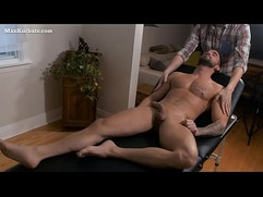 Gay Handjob After Massage