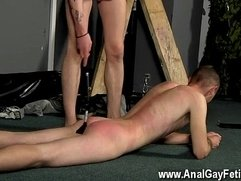 Amazing twinks Slave Boy Fed Hard Inches