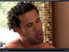 """Straight"" Pornstar Carlo Carrera's Gay Scene"