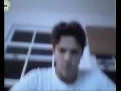 Rômulo Arantes Neto peladão na webcam