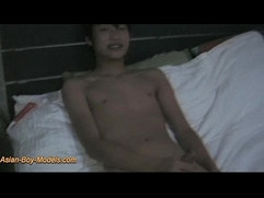 Cute Asian Boy With Big Monster Cock Jerk Off