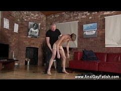 Black gets finger by a white man gay porn Spanking The Schoolboy