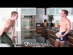 ManRoyale Morning tease turns into fuck each other with Tommy Regan