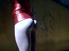 my shiny leggings
