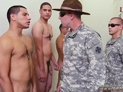 Free video gay military bareback Yes Drill Sergeant!