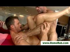 Gay straight massage blowjob