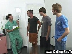 Gay sex Today a group of men stop by the clinic wanting to collect
